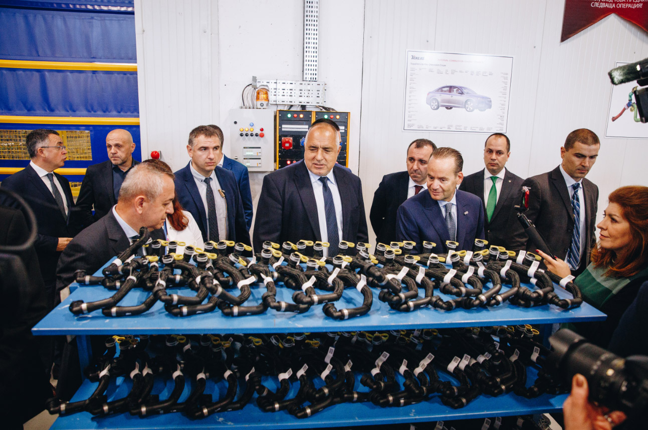 Teklas Opened Its New Plant in Bulgaria